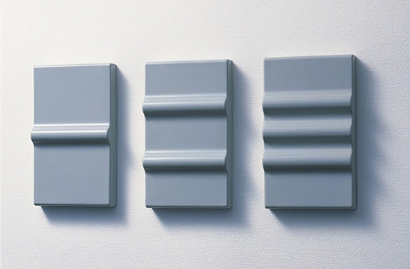 Wall switches are part of the interior vernacular that we all accept, but their designs have essentially not evolved in decades. A standard switch may not match with the interior, but the designer simply works around it. These were intended to offer an alternative. The soft Silicon Switches cover a prefabricated push-type switch which is sadly, only available in Japan. Produced in three styles by Max Ray Co., Ltd.