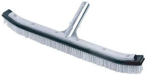 "18"" Combo Bristle Pro Curved Alum Brush"