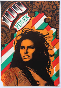 100 Rifles | Raquel Welch | Czech Poster