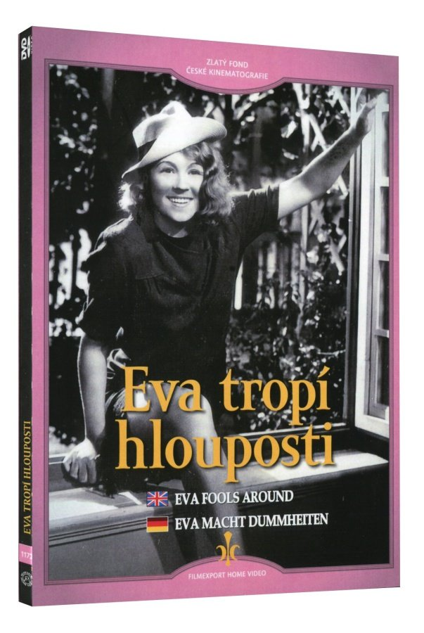 Eva Fools Around (Eva tropi hlouposti) Czech classic comedy DVD with subtitles - Czech Poster Gallery