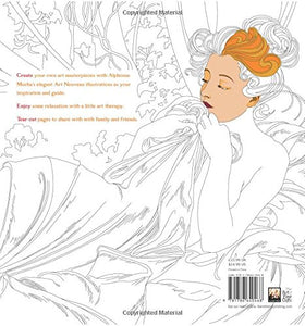 Alphonse Mucha (Art Colouring Book) : Make Your Own Art Masterpiece