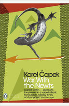 Load image into Gallery viewer, Karel Capek: War with the Newts (Valka s mloky) | Czech Sci-fi | Book in English - Czech Poster Gallery