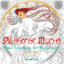 Load image into Gallery viewer, Alphonse Mucha (Art Colouring Book) : Make Your Own Art Masterpiece Book - Czech Poster Gallery - Alfons Mucha