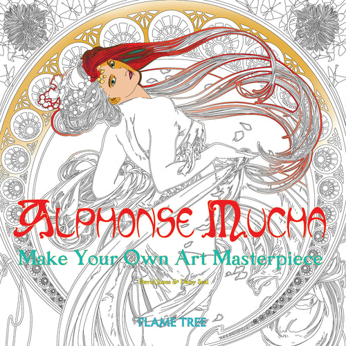 Alphonse Mucha (Art Colouring Book) : Make Your Own Art Masterpiece Book - Czech Poster Gallery - Alfons Mucha