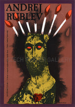 Load image into Gallery viewer, Andrei Rublev Czech Movie Poster Large - Czech Film Poster Gallery