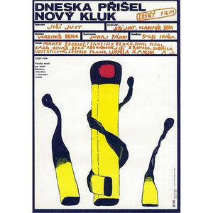 A NEW BOY CAME TODAY - Czech Film Poster Gallery