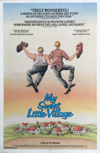 SWEET LITTLE WILLAGE (Vesnicko ma, strediskova) U.S. 1sh Poster - Czech Film Poster Gallery