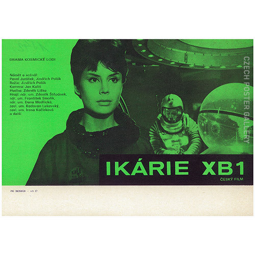 IKARIE XB1 (Voyage to the End of the Universe) Czech Mini Poster