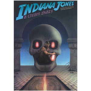 INDIANA JONES AND THE TEMPLE OF THE DOOM A1 Poster