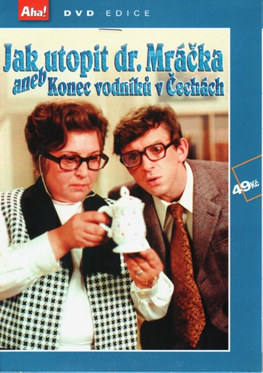 Jak utopit Dr. Mracka Czech DVD English subtitles - Czech Film Poster Gallery