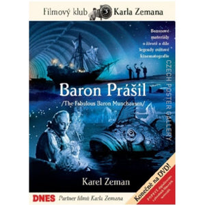 The Fabulous Baron Munchausen - Karel Zeman DVD