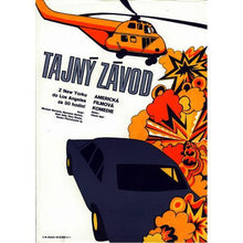 Load image into Gallery viewer, THE GUMBALL RALLY (Large) Original Czech Film Poster - Czech Film Poster Gallery