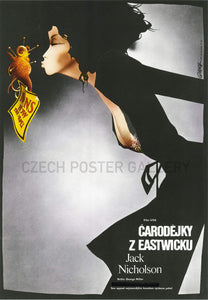 The Witches of Eastwick Czech Film Poster
