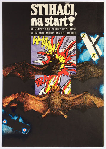 ACES HIGH Original Czech Film Poster - Czech Film Poster Gallery