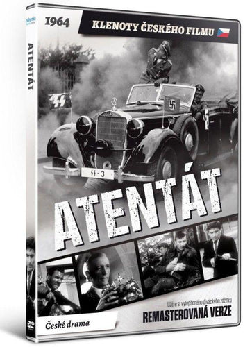 Atentat (Anthropoid) DVD - Czech Film Poster Gallery