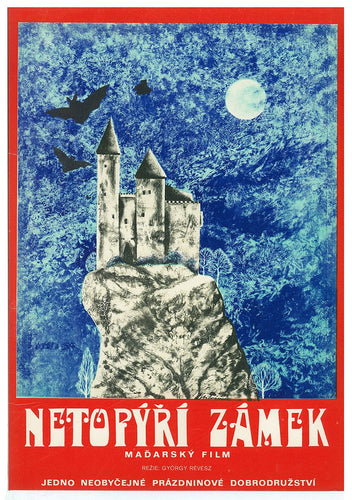 BAT CASTLE Czech Poster For Hungarian Film - Czech Film Poster Gallery