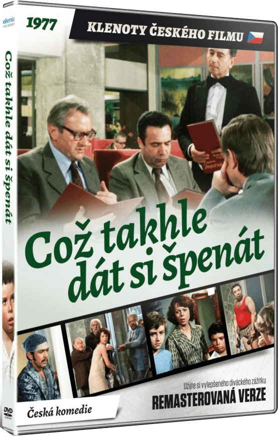 How About a Plate of Spinach? (Coz takhle dat si spenat?) Czech DVD