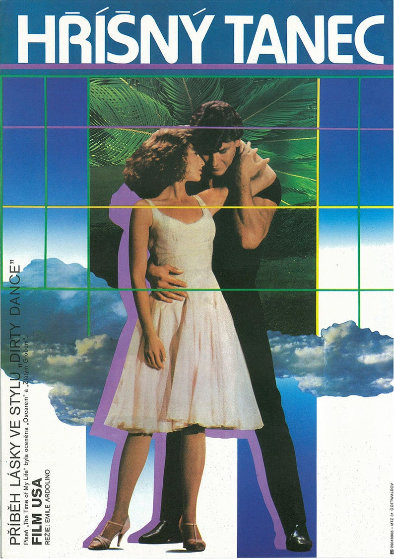 DIRTY DANCING Czech Poster