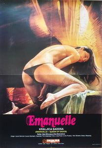 Emanuelle Queen of Sados Sexy Yougoslavian Poster - Czech Film Poster Gallery