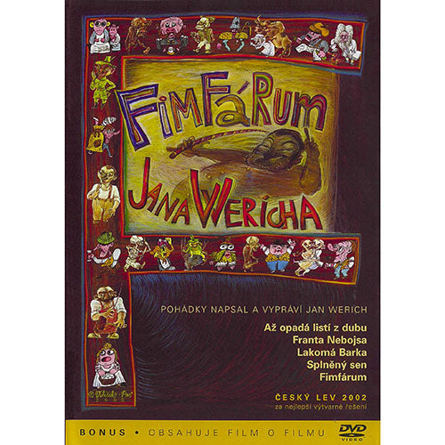 Fimfarum Czech animation DVD