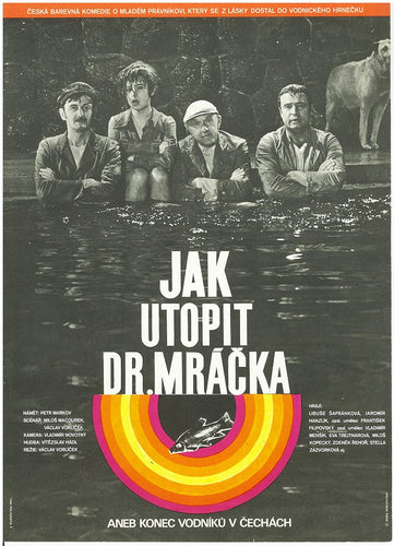 How To Drown Dr. Mracek, the Lawyer Original Czech Poster - Czech Film Poster Gallery