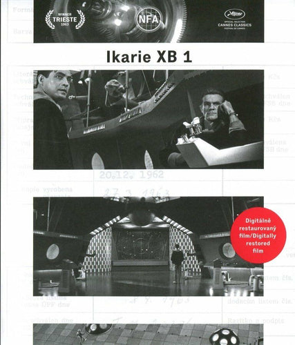 IKARIE XB 1 Remastered DVD - Czech Film Poster Gallery