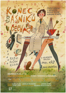 End of Poets in Bohemia (Konec Basniku v Cechach) - Czech Film Poster Gallery