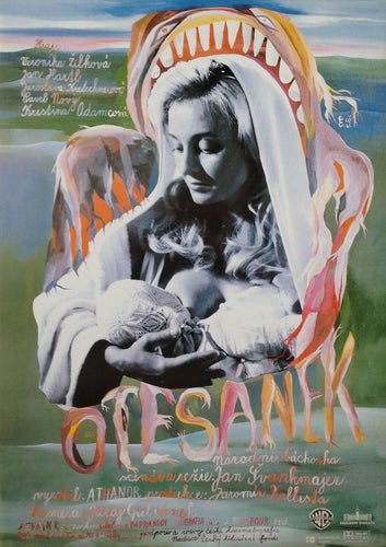 Little Otik | Greedy Guts | Svankmajer | Official Poster - Czech Film Poster Gallery
