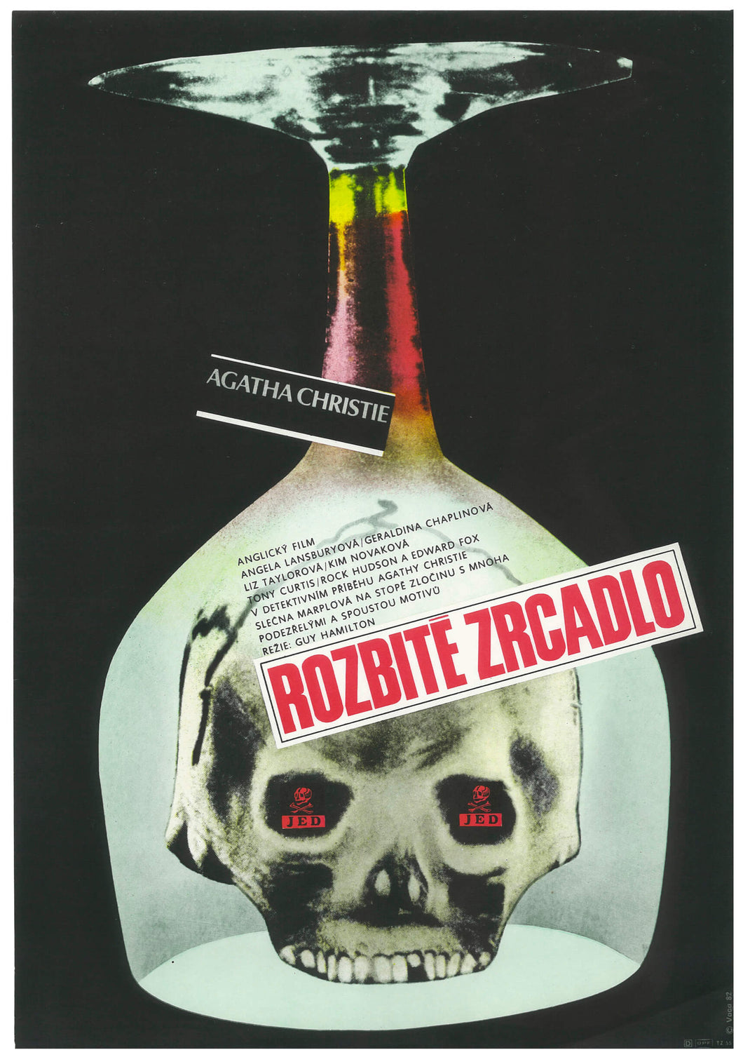MIRROR CRACK'D | Agatha Christie | Czech Film Poster