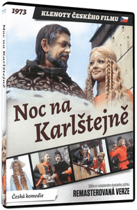 A Night at Karlstein (Noc na Karlstejne) Czech musical on DVD with subtitles - Czech Poster Gallery
