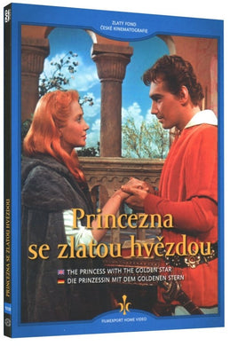 princess with golden star czech fairytale dvd with subtitles - czec poster gallery