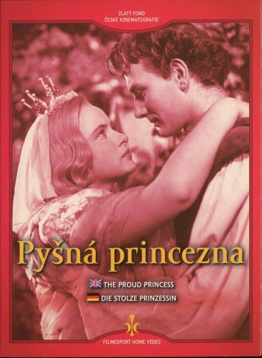 Pysna Pricezna (Proud princess) dvd with subtitles - czech poster gallery