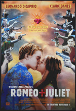 Load image into Gallery viewer, Romeo & Juliet One Sheet U.S. Movie Poster with Leonardo DiCaprio - Czech Poster Gallery