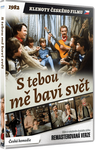 I Enjoy The World With You (S tebou me bavi svet) Czech family film on remastered DVD