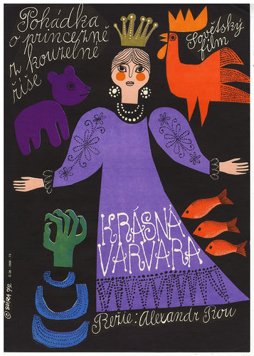 Princess Varvara - Czech Film Poster Gallery
