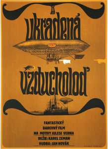 STOLEN AIRSHIP | Czech Animation | Karel Zeman | Czech Movie Poster