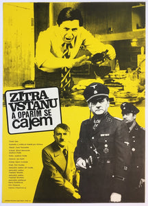 Tomorrow I'll wake up and scald myself with tea original sci-fi poster - Czech Poster Gallery