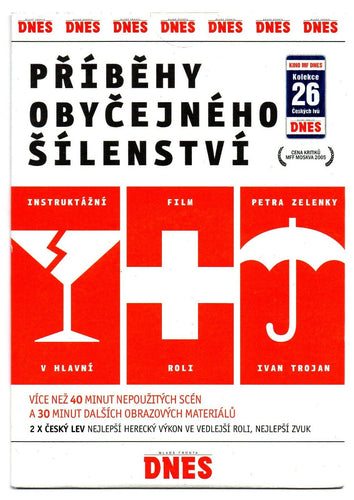 Wrong Side Up | Pribehy obycejneho silenstvi Czech movie on DVD with subtitles - Czech Poster Gallery