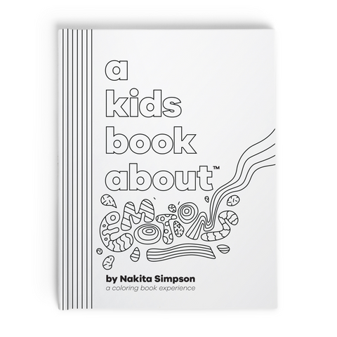 a kids book about emotions nakita simpson front