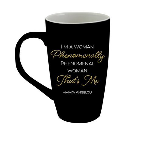 Phenomenal Woman Latte Mug