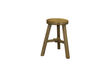 Load image into Gallery viewer, Low Round Elm Stool