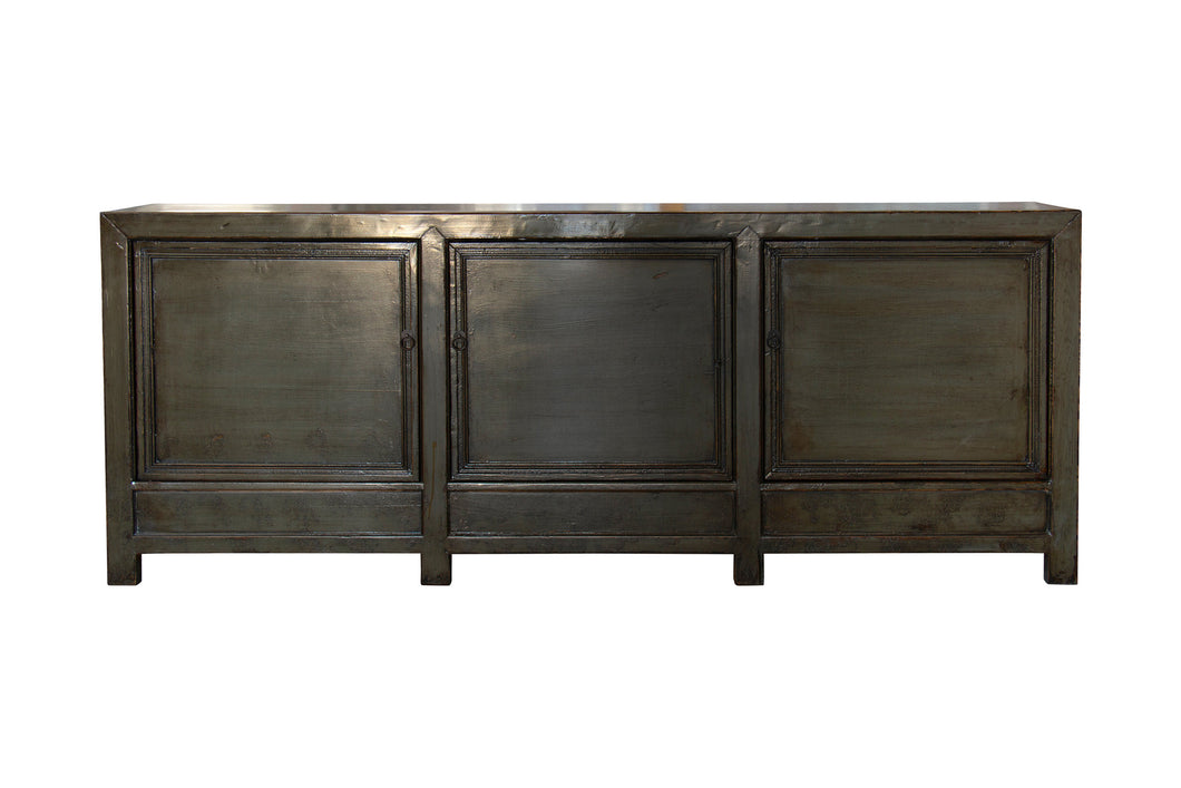 3 DOOR OLIVE LACQUERED BUFFET (H25)