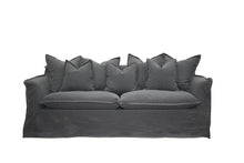 Load image into Gallery viewer, Hampton Sofa - 3 Seat Charcoal