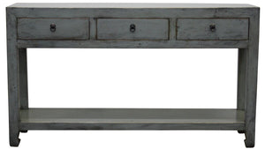 Lacquered Console - Grey