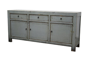 Lacquered Buffet 3 Draw 3 Door - Grey