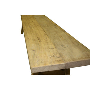 Low Elm Bench