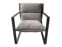 Load image into Gallery viewer, MANHATTAN ARMCHAIR - CHARCOAL