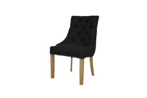 Nina Carver Chair - Charcoal