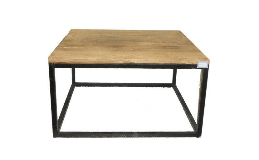 Industrial Coffee Table - Square