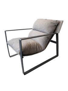 MANHATTAN ARMCHAIR - CHARCOAL